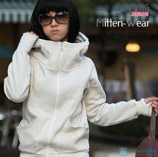 Áo khoác xỏ ngón - Cho bạn gái thêm ấm áp vào những ngày trời se lạnh - Chỉ 110.000đ/01 chiếc - 1