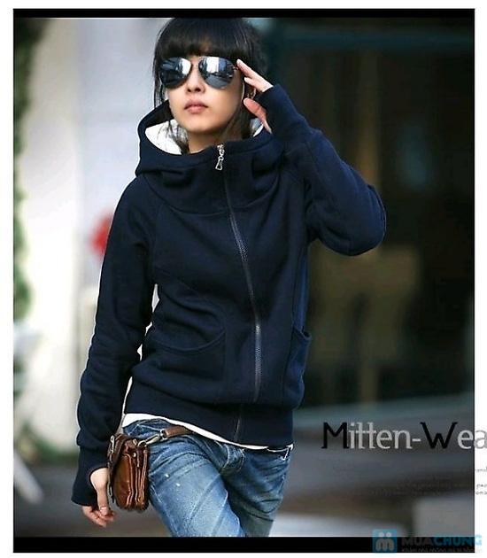 Áo khoác xỏ ngón - Cho bạn gái thêm ấm áp vào những ngày trời se lạnh - Chỉ 110.000đ/01 chiếc - 5