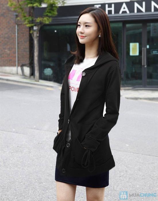 Áo khoác dáng dài phong cách Hàn Quốc cho nữ - Chỉ 120.000đ/01 chiếc - 1
