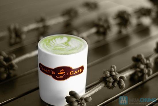 Thưởng thức các loại nước uống và bánh ngọt thơm ngon tại Khaisilk - That's Cafe - Chỉ 60.000đ được phiếu 100.000đ - 1