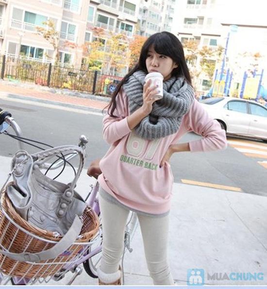 Khăn len ống vặn thừng thời trang, ấm áp - Chỉ với 90.000đ - 3