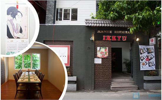 Phiếu ăn uống tại Nhà hàng Nhật Bản IKKYU - Chỉ 90.000đ được phiếu 180.000đ - 15