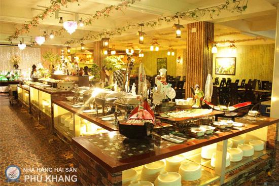 Buffet tối thứ 3 đến Chủ nhật t tại nhà hàng hải sản Phú Khang - Chỉ 199.000đ/ 1 vé - 24