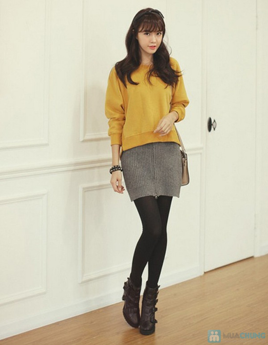 Quần tất lót nỉ Fashion Tights Hàn Quốc dầy dặn, êm ái - Chỉ với 95.000đ/ 01 chiếc - 10