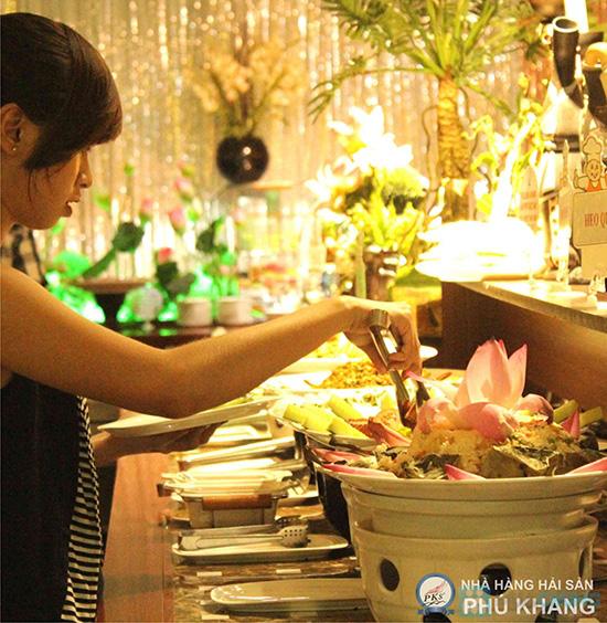 Buffet tối thứ 3 đến Chủ nhật t tại nhà hàng hải sản Phú Khang - Chỉ 199.000đ/ 1 vé - 27