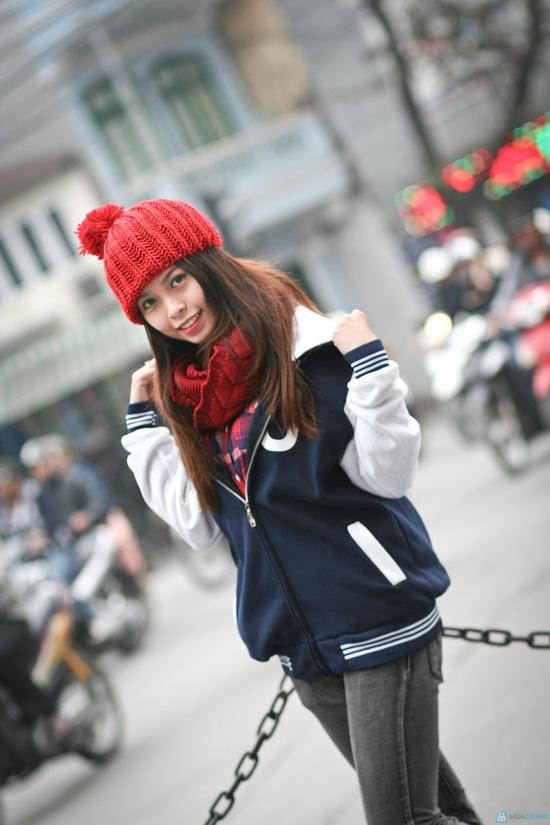 Khăn len ống vặn thừng thời trang, ấm áp - Chỉ với 90.000đ - 5