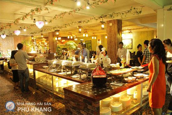 Buffet tối thứ 3 đến Chủ nhật t tại nhà hàng hải sản Phú Khang - Chỉ 199.000đ/ 1 vé - 26