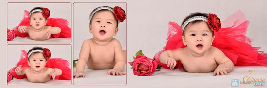 Gói chụp ảnh cho bé yêu tại Chérie Studio - Chỉ với 990.000đ - 2