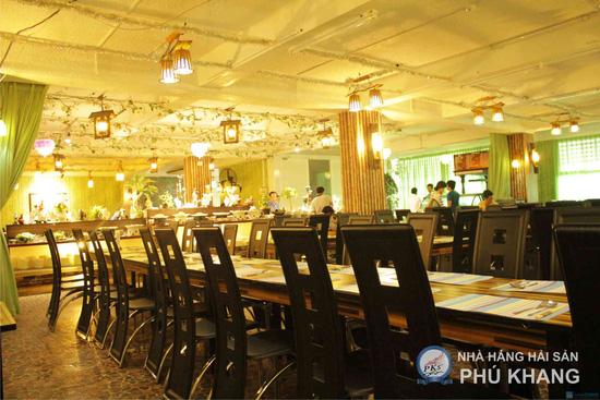 Buffet tối thứ 3 đến Chủ nhật t tại nhà hàng hải sản Phú Khang - Chỉ 199.000đ/ 1 vé - 25