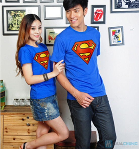 Áo cặp superman cho nam và nữ - Chỉ 115.000đ - 1
