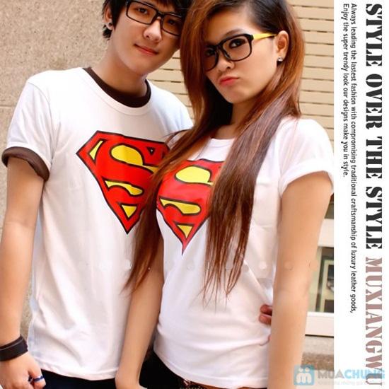 Áo cặp superman cho nam và nữ - Chỉ 115.000đ - 2