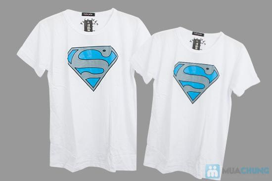 Áo cặp superman cho nam và nữ - Chỉ 115.000đ - 6