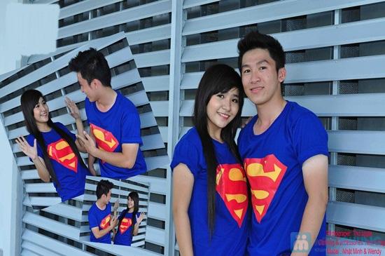 Áo cặp superman cho nam và nữ - Chỉ 115.000đ - 4