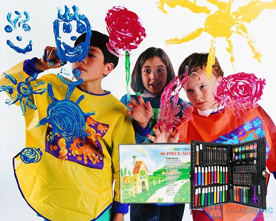 Hộp bút chì màu 86 món - Cùng phát triển tài năng hội họa của trẻ - Chỉ 88.000đ/01 hộp - 8