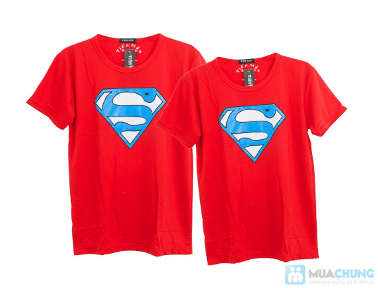 Áo cặp superman cho nam và nữ - Chỉ 115.000đ - 5