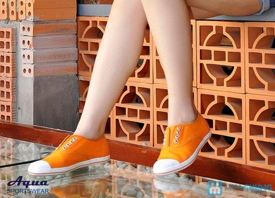 Giày nữ Aqua - Kiểu dáng Oxford 8 lỗ cá tính, không cần cột dây (size 35, 41) - Chỉ 152.000đ/đôi - 6