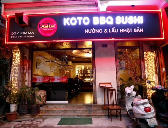 Buffet Nhật nhà hàng KOTO - 8