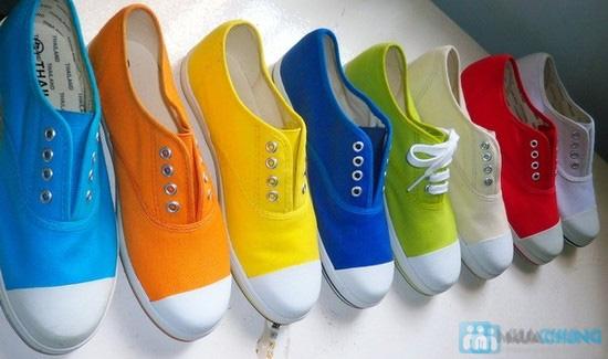 Giày nữ Aqua - Kiểu dáng Oxford 8 lỗ cá tính, không cần cột dây (size 35, 41) - Chỉ 152.000đ/đôi - 8