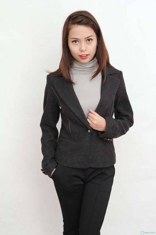 Ao vest nu da dang ngan Thời trang áo vest nữ năm 2013