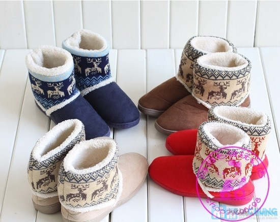 Boot cổ lông len - Ấm áp và xinh xắn - 3