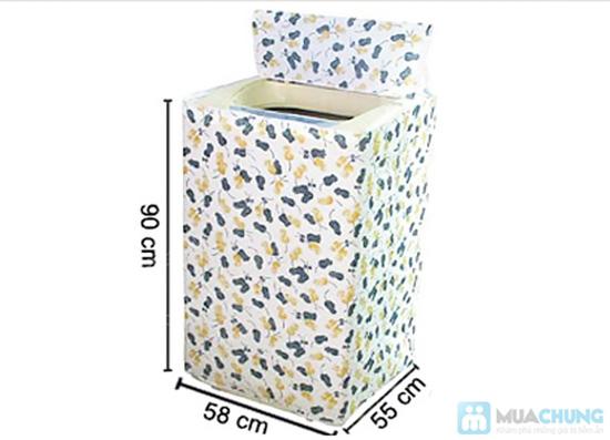 Chống bụi cho máy giặt với áo trùm máy giặt cửa trên - Chỉ 55.000đ/01 chiếc - 2