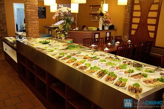 Buffet nướng & lẩu hải sản tại nhà hàng BBQ House - Chỉ 252.000đ/ 01 người - 6