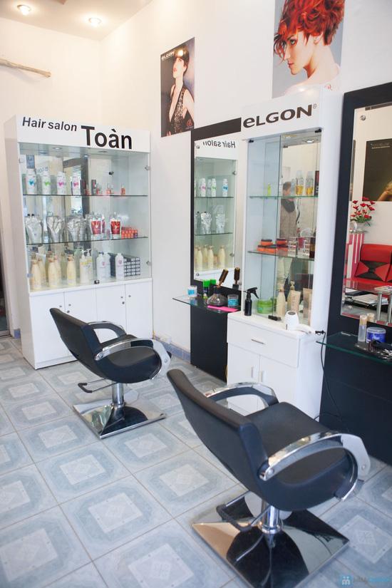 Chọn 1 trong 3 gói: Cắt + Hấp+ Ép/ Uốn/ Nhuộm tại Toàn Hair Salon- Chỉ 285.000 đ - 7