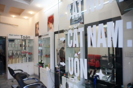 Chọn 1 trong 3 gói: Cắt + Hấp+ Ép/ Uốn/ Nhuộm tại Toàn Hair Salon- Chỉ 285.000 đ - 5
