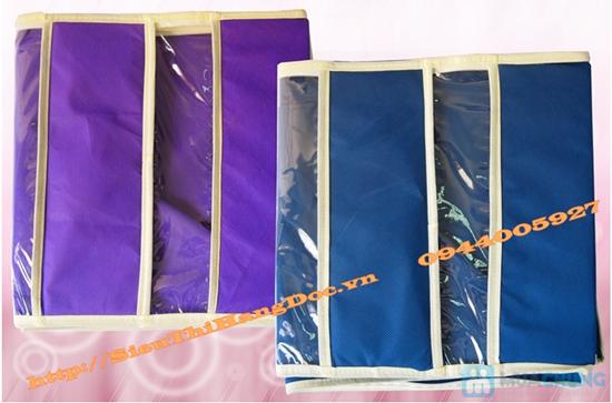 Tiết kiệm không gian với túi vải 3 ngăn tiện lợi - Chỉ 78.000đ/01 chiếc - 2