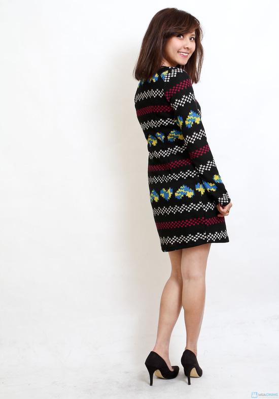 Váy len họa tiết nhiều mầu - Chỉ với 119.000đ - 3