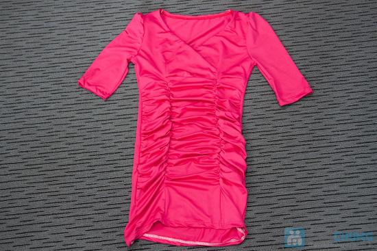 Đầm body thân nhúng tay phồng phong cách Hàn Quốc - Chỉ 115.000đ - 1
