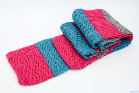 Bộ khăn mũ len ấm áp cho bé yêu - 6