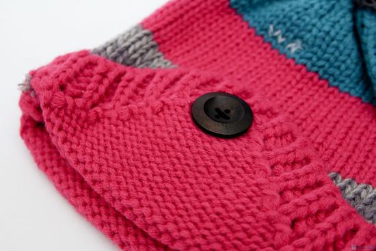 Bộ khăn mũ len ấm áp cho bé yêu - 3