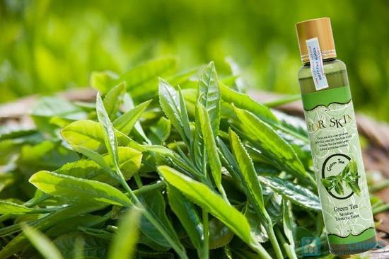Nước tone chiết xuất trà xanh và rau sam For Skin - Chỉ với 261.000đ - 3