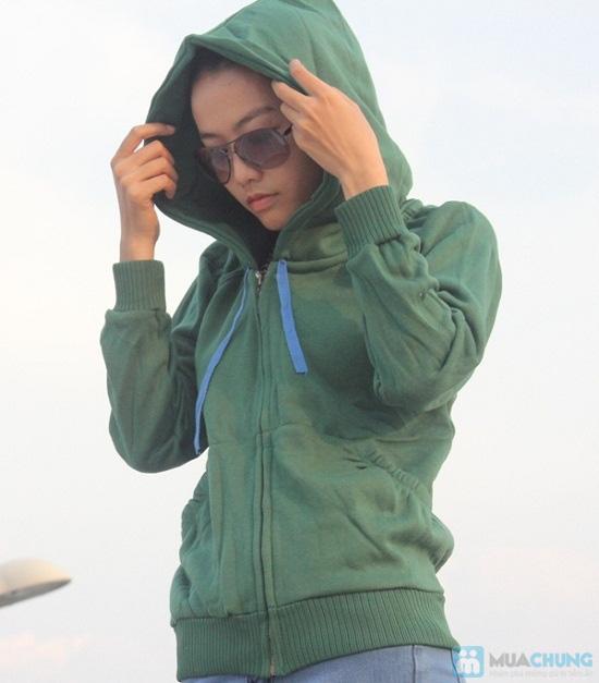 Áo khoác nữ, chất liệu nỉ giúp chống nắng và giữ ấm hiệu quả - Chỉ 99.000đ/chiếc - 2