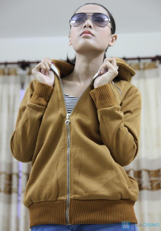Áo khoác nữ, chất liệu nỉ giúp chống nắng và giữ ấm hiệu quả - Chỉ 99.000đ/chiếc - 10