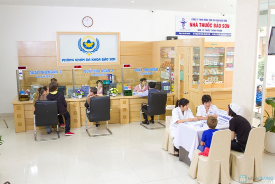 Voucher khám sức khỏe tại Phòng khám Đa khoa Bảo Sơn - Chỉ với 250.000đ được phiếu 500.000đ - 10