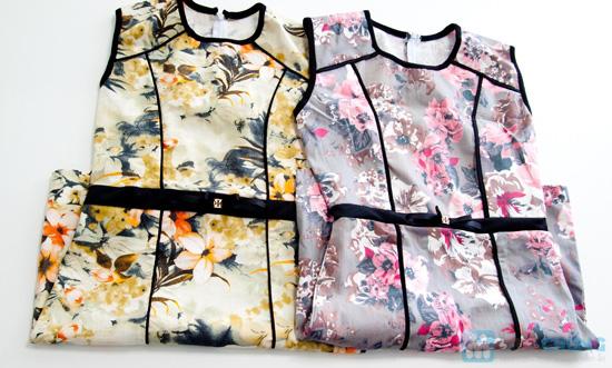 Đầm kaki hoa viền- Cho bạn gái dễ thương và xinh xắn mỗi ngày - Chỉ 135.000đ/01 chiếc - 1