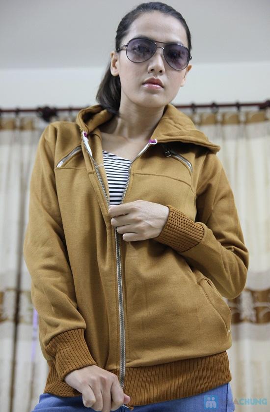 Áo khoác nữ, chất liệu nỉ giúp chống nắng và giữ ấm hiệu quả - Chỉ 99.000đ/chiếc - 9