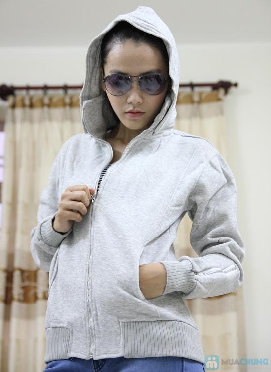 Áo khoác nữ, chất liệu nỉ giúp chống nắng và giữ ấm hiệu quả - Chỉ 99.000đ/chiếc - 7