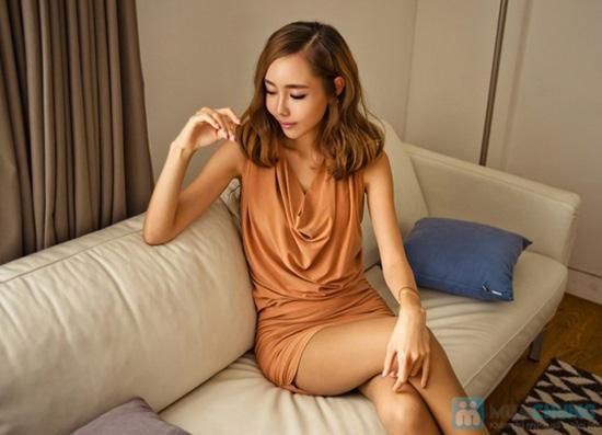 Đầm cổ đổ Apricot - Chỉ 135.000đ - 9