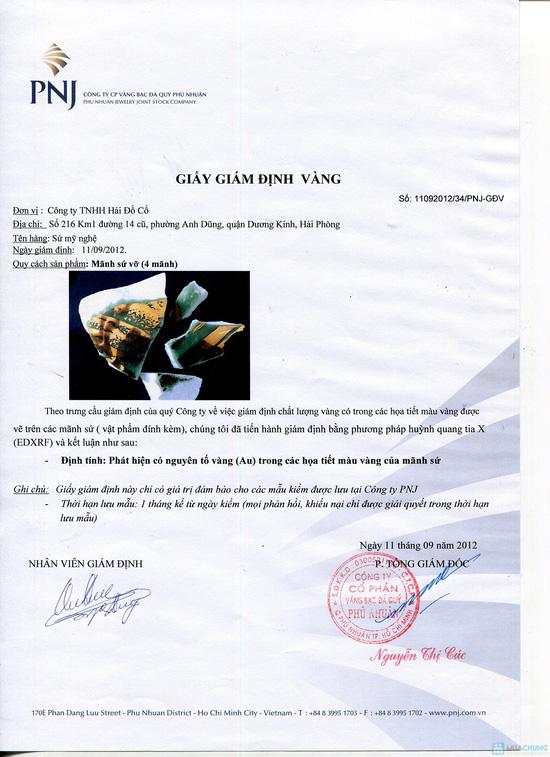 Voucher mua quà tặng sang trọng bằng gốm sứ vẽ vàng ròng tại Haidoco - chỉ với 100.000đ - 1