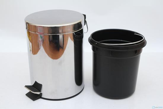 Thùng rác Inox 5Lit - Hàng nhập khẩu - 1