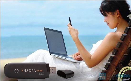 USB 3G HSDPA 7.2Mbps sử dụng 3 mạng Vinaphone, Viettel, Mobiphone - Chỉ 335.000đ - 2