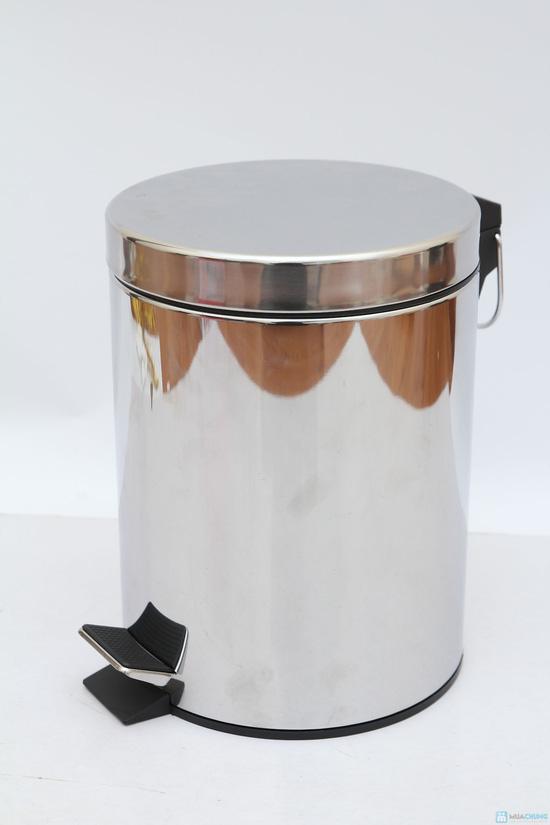 Thùng rác Inox 5Lit - Hàng nhập khẩu - 2