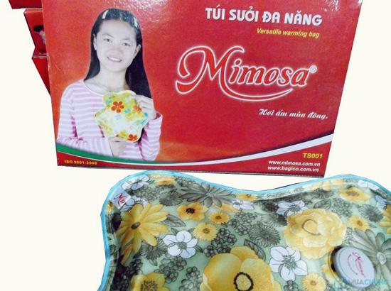 Túi sưởi Mimosa loại to hiệu quả, an toàn, tiện dụng - Món quà ý nghĩa cho người thân của bạn - Chỉ với 155.000đ - 4