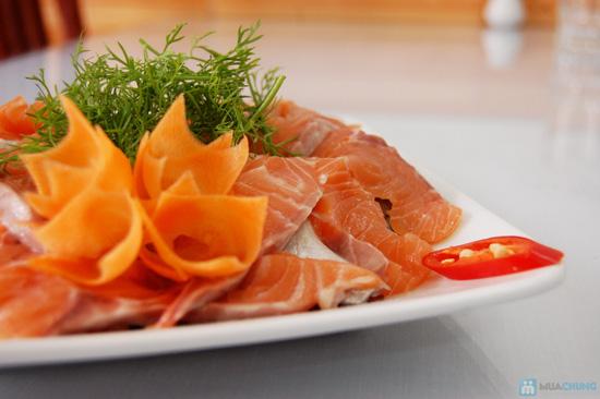 Set ăn Lẩu Cá Hồi đặc biệt cho 4 người tại Nhà hàng chả cá Hà Nội - Chỉ 249.000đ - 5