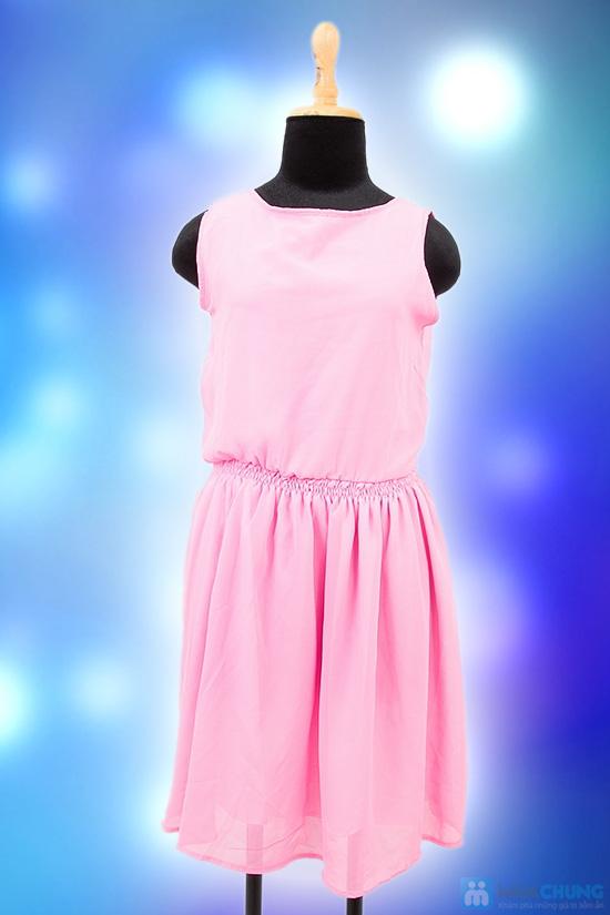 Đầm hồng 2 lớp - Chỉ 110.000đ - 5