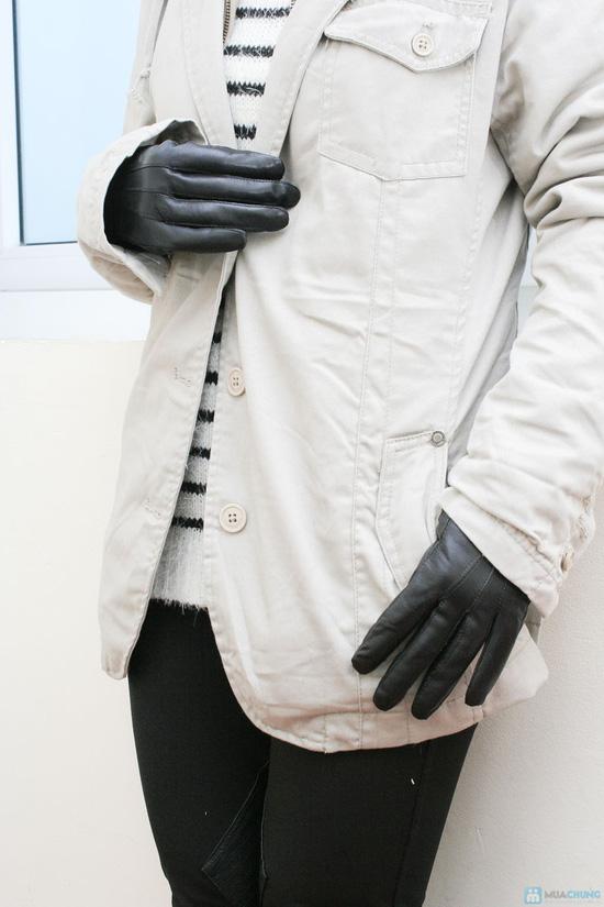 Găng tay da cừu cho nữ - 3