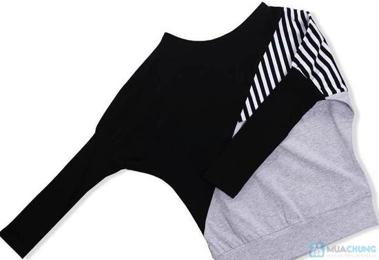 Áo thun sọc Mix Color, Màu sắc trẻ trung, thiết kế ấn tượng - Chỉ 105.000đ/ 01 chiếc - 9